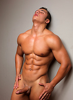 Twenty-one year old bodybuilder Martin Santos