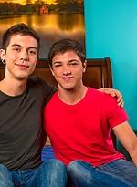 Cute boys Scott Emerald and Jake Jonas fucking