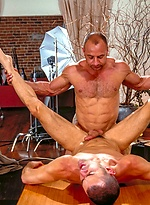 Muscle fuck. Michael Soldier and Tony Scalia