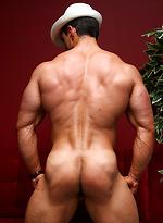 Hot bodybuilder Macho Nacho