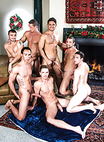 Dato Foland Gets A Gay Bareback Orgy For Christmas