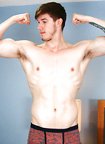 Super Fit Young Swimmer Chris Shows off his Lean Body
